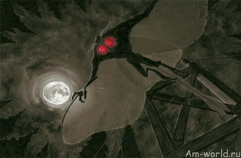 Человек-мотылек не вымысел киношников