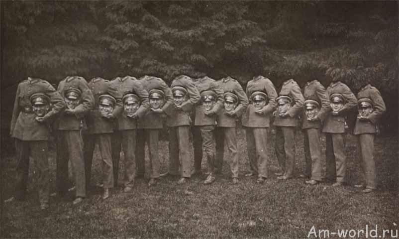 Безголовые фотографии - парадокс искусства