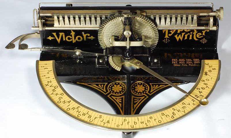 История пишущей машинки