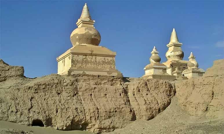 Хара-Хото - город под толщей песка пустыни Гоби