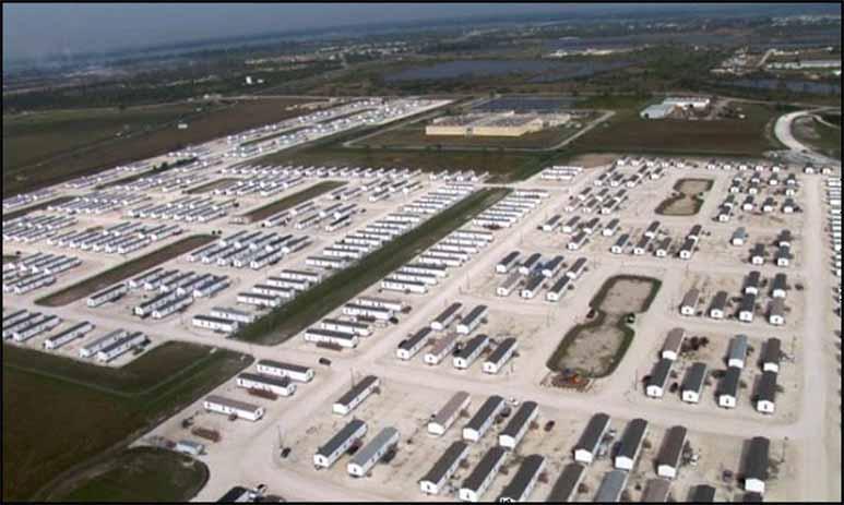 FEMA - тайный концлагерь в США