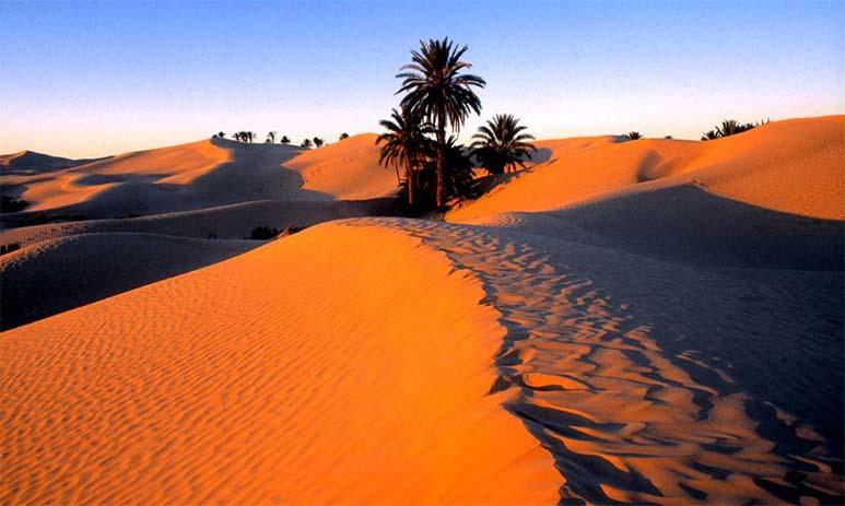 Загадочные африканские пустыни