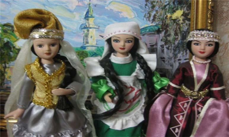 Традиционные татарские куклы