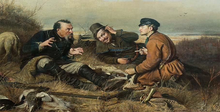 Настоящая охота - приметы и загадки