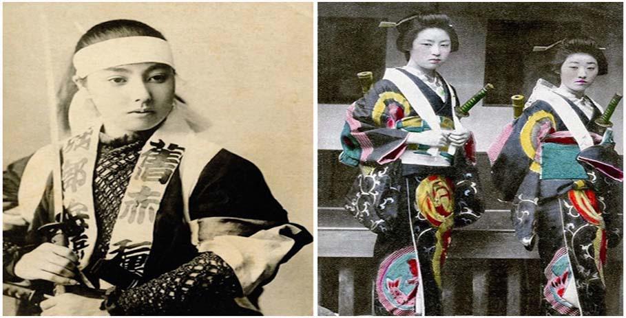 Женщины-самураи - нежные воительницы
