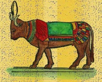 Аписы - боги с головой быка
