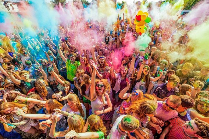 Волшебство красок в жизни человека